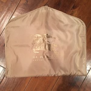 NWOT Authentic Burberry Garment Bag
